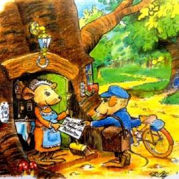 60th Birthday Card Illustration