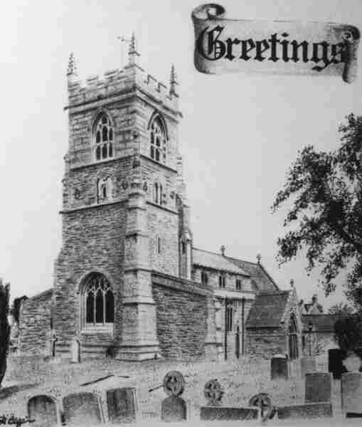 Collingham Church 1981