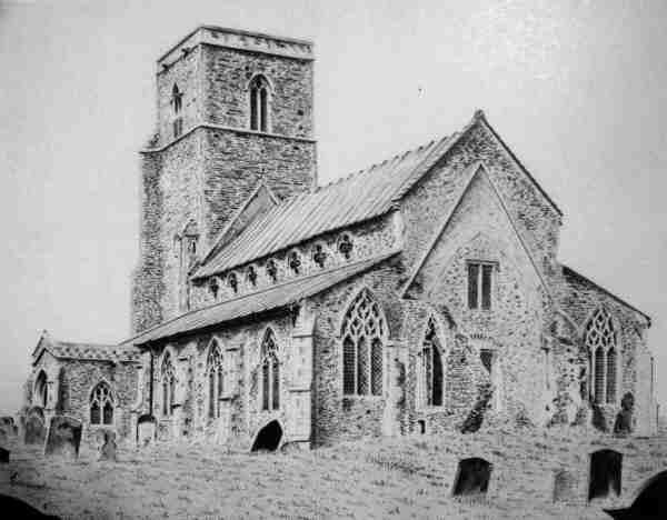Great Walsingham Church 1981