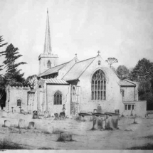Little Walsingham Church 1981