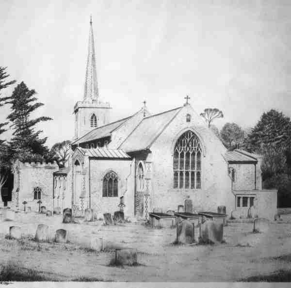 Little Walsingham Church 1981