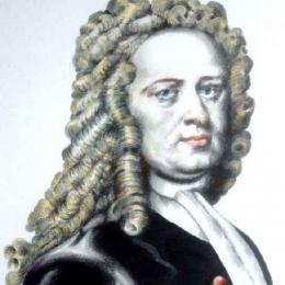 Portrait of William Stukeley (Newton's friend and biographer) 2012