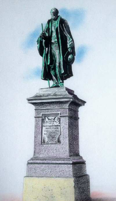 Statue of Sir George Tollemache MP 2012